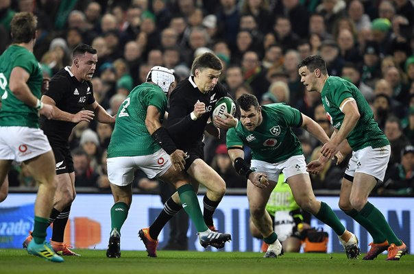 Beauden Barrett New Zealand All Blacks v Ireland Dublin 2018