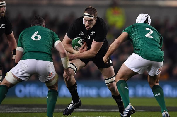 Brodie Retallick New Zealand v Ireland Dublin 2018