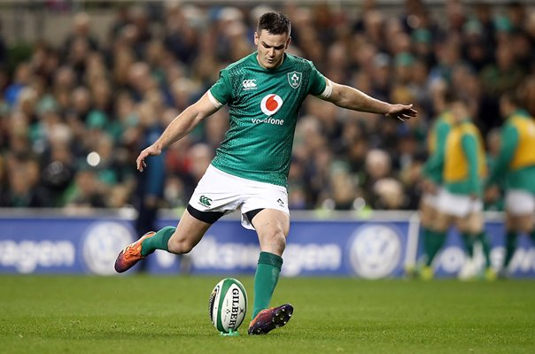Johnny Sexton Ireland kicker v New Zealand Aviva Dublin 2018
