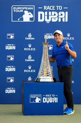 Francesco Molinari Italy Race to Dubai Winner 2018