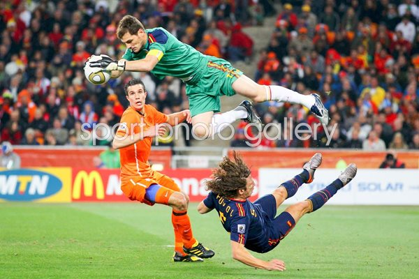 2010 World Cup Final - Cassillas's catch