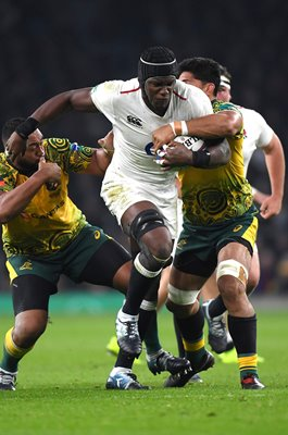 Maro Itoje England v Australia International Twickenham 2018