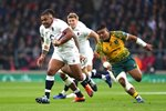 Kyle Sinckler England breaks v Australia Autumn International 2018 Prints