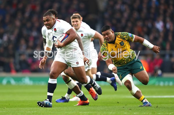Kyle Sinckler England breaks v Australia Autumn International 2018