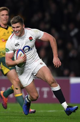 Owen Farrell England try v Australia Autumn International 2018