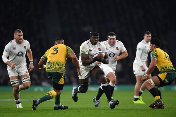 Maro Itoje England v Australia Autumn International 2018