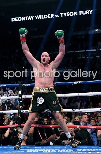 Tyson Fury v Deontay Wilder Heavyweight Title Fight 2018
