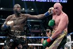 Deontay Wilder v Tyson Fury fight Los Angeles 2018 Prints