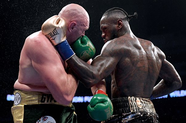 Tyson Fury v Deontay Wilder Los Angeles 2018
