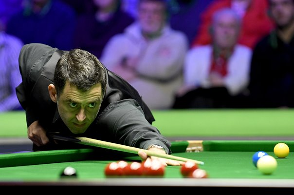 Ronnie O'Sullivan UK Snooker Championship York Barbican 2018