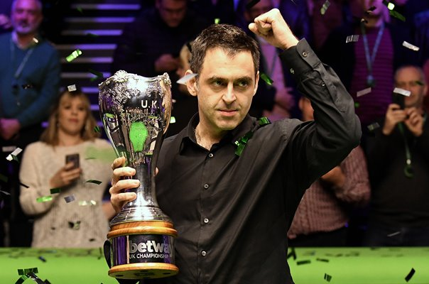 Ronnie O'Sullivan UK Snooker Champion 2018