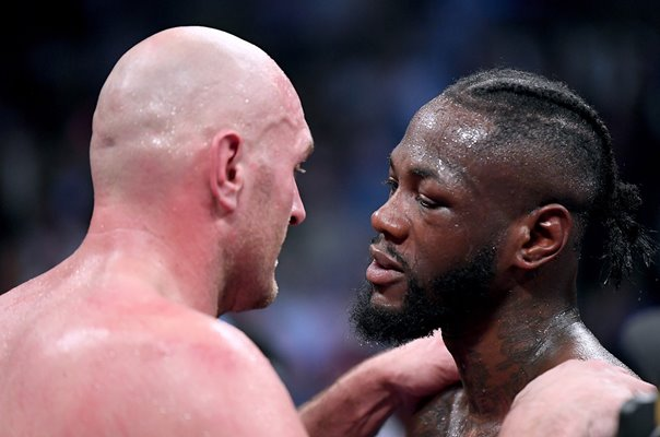 Deontay Wilder & Tyson Fury Post Drawn Fight Los Angeles 2018