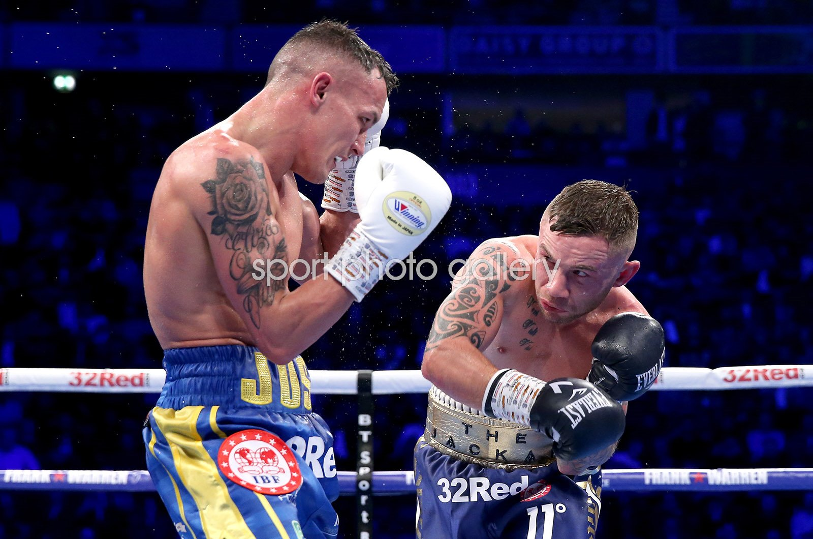 Josh Warrington v Carl Frampton IBF World Title Fight Manchester Arena 2018