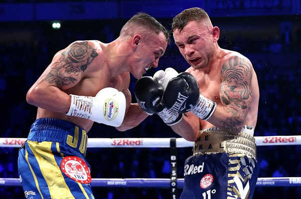 Josh Warrington v Carl Frampton IBF World Title Manchester Arena 2018