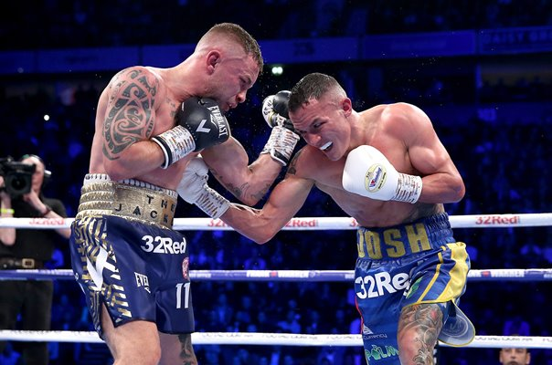 Josh Warrington v Carl Frampton World Title Fight Manchester 2018