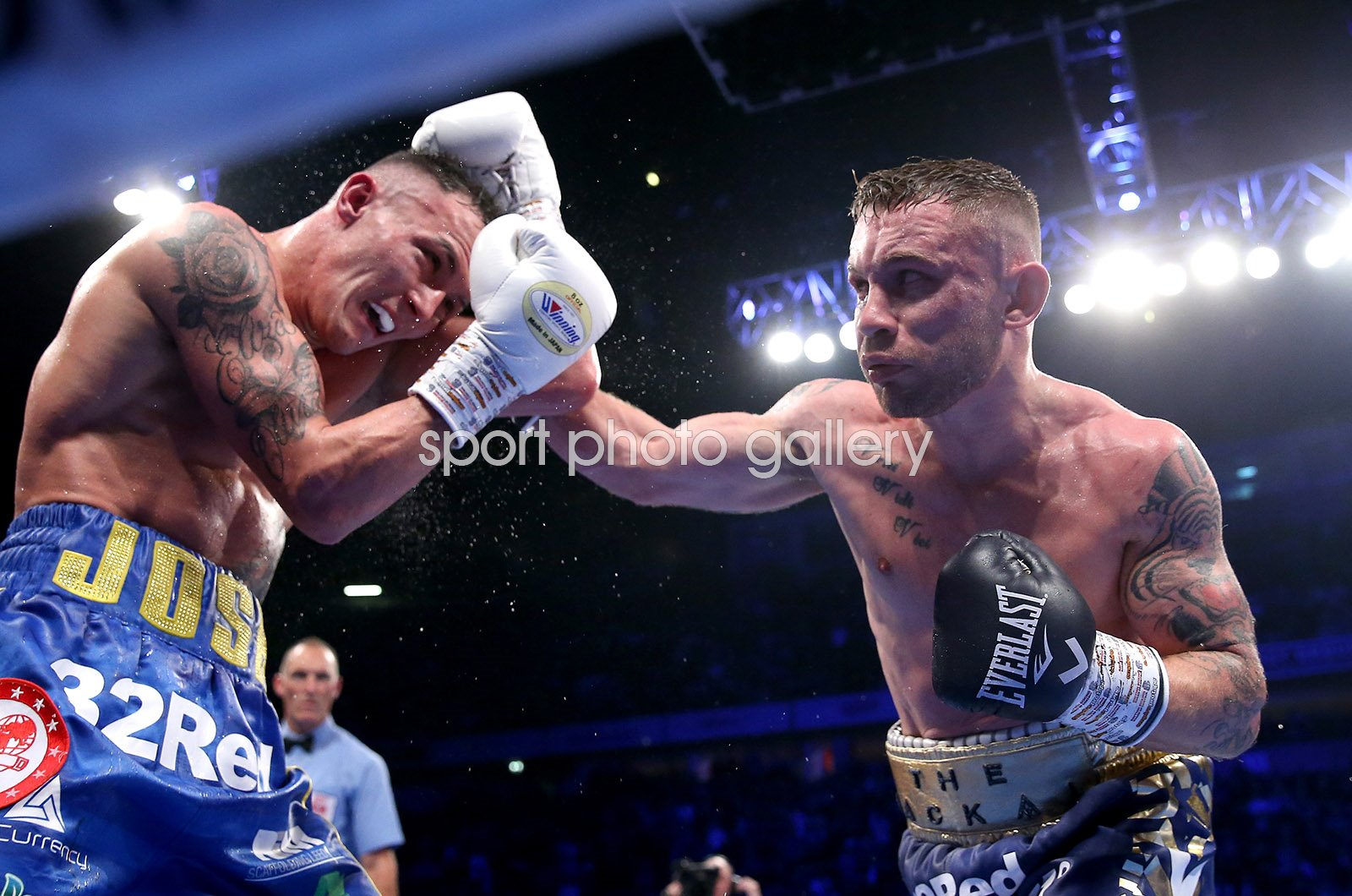 Josh Warrington v Carl Frampton World Featherweight Fight 2018