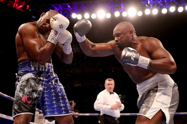 Dillian Whyte v Dereck Chisora Heavyweight Boxing Fight #2 2018