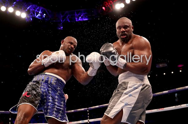 Dillian Whyte v Dereck Chisora Heavyweight Boxing O2 London 2018