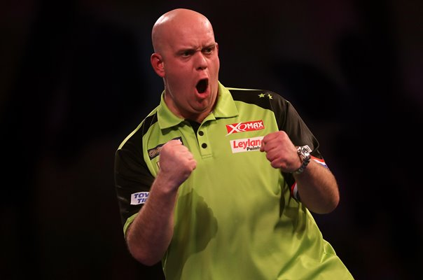 Michael van Gerwen Netherlands 2019 World Darts