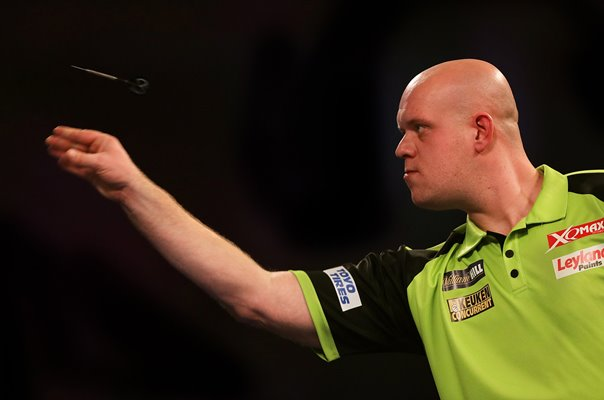 Michael van Gerwen Netherlands 2019 World Darts Championships