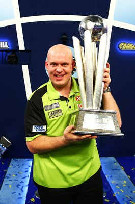 Michael van Gerwen Netherlands 2019 World Champion