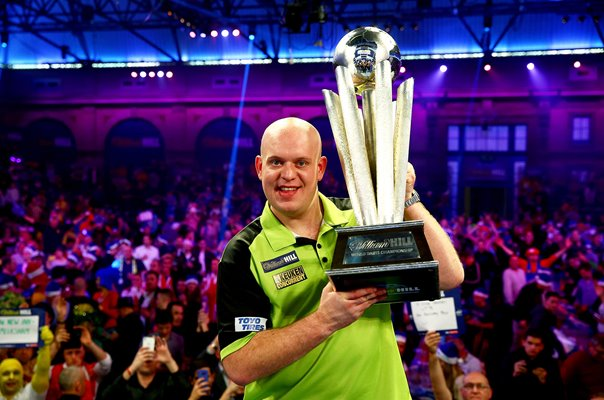 Michael van Gerwen Netherlands World Champion 2019