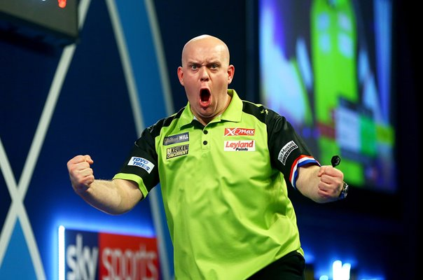 Michael van Gerwen Netherlands World Darts Champion 2019