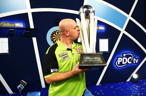 Michael van Gerwen Netherlands 2019 World Darts Champion