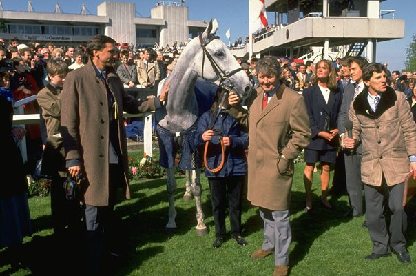 Trainer David Elsworth & Desert Orchids Sandown Park 1988