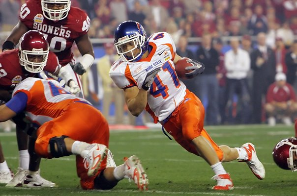 Running back Ian Johnson Boise State v Oklahoma 2007