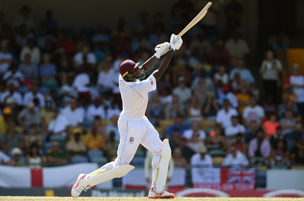 Jason Holder West Indies v England Barbados Test 2018