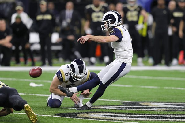 Greg Zuerlein Los Angeles Rams v New Orleans Saints 2019