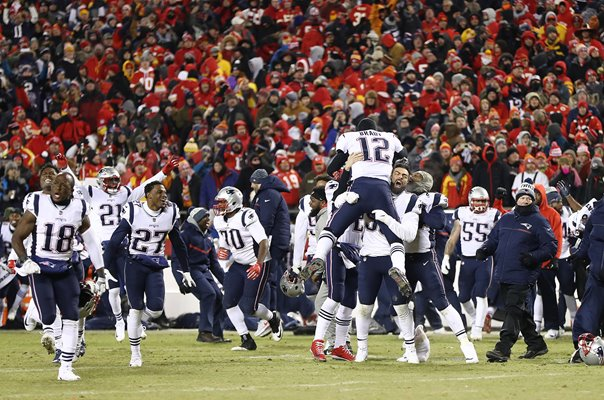 New England Patriots beat Kansas City Chiefs AFC Championship 2019