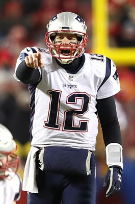 Tom Brady New England Patriots v Kansas City AFC Championship 2019