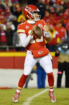 Patrick Mahomes Kansas City v New England AFC Championship Game 2019