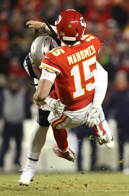 Patrick Mahomes Kansas City Chiefs v New England 2019