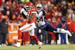 Sammy Watkins v Stephon Gilmore AFC Championship Game 2019 Mounts