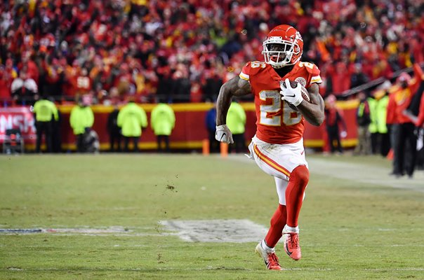 Damien Williams Kansas City Touchdown AFC Championship Game 2019