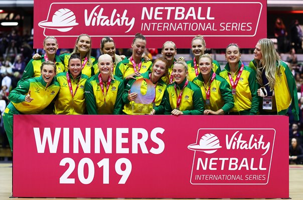 Australia Netball International Series Winners London 2019