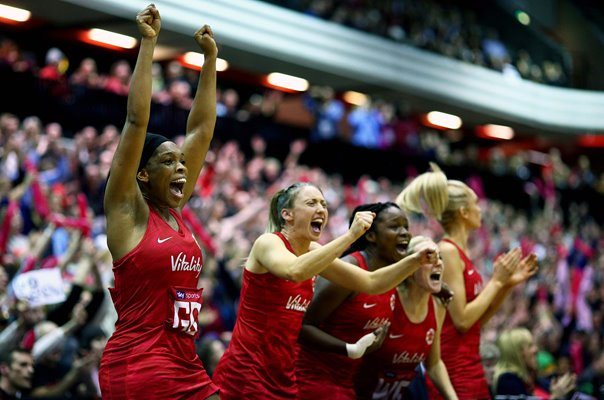 Eboni Usoro-Brown England Netball Quad Series 2019