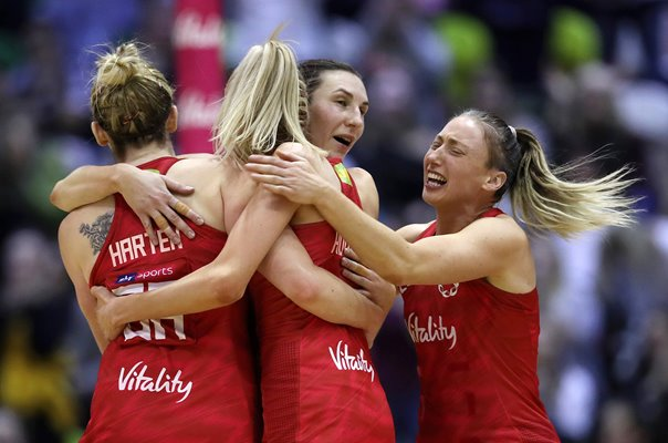 England beat Australia Netball Quad Series London 2019
