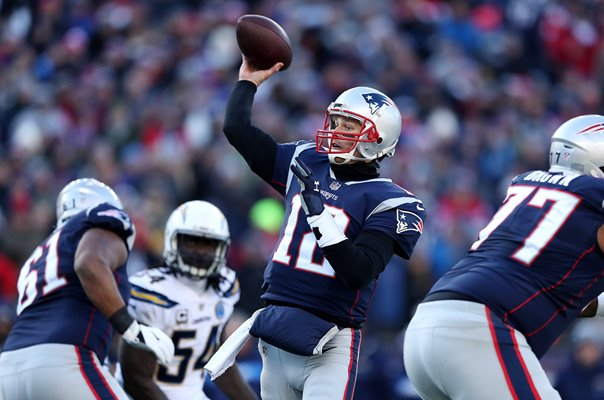 Tom Brady New England Patriots v Chargers AFC Playoffs 2019