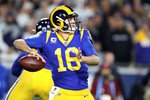Jared Goff Los Angeles Rams v Dallas NFC Playoff Game 2019 Prints