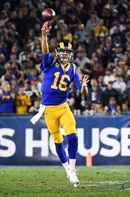 Jared Goff Los Angeles Rams v Dallas Cowboys NFC Playoffs 2019