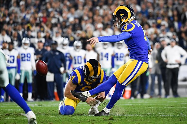 Greg Zuerlein Los Angeles v Dallas Cowboys NFC Playoff 2019