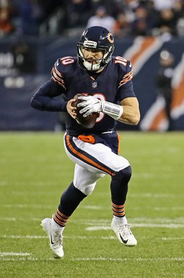 Mitchell Trubisky Chicago Bears v Philadelphia Eagles Playoffs 2019