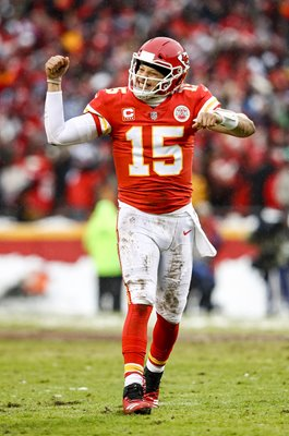 Patrick Mahomes Kansas City Chiefs Quarterback Touchdown Playoffs 2019