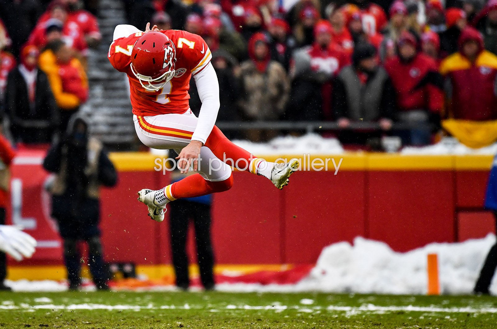 Harrison Butker Kansas City Chiefs Kicker v Indianapolis Playoffs 2019
