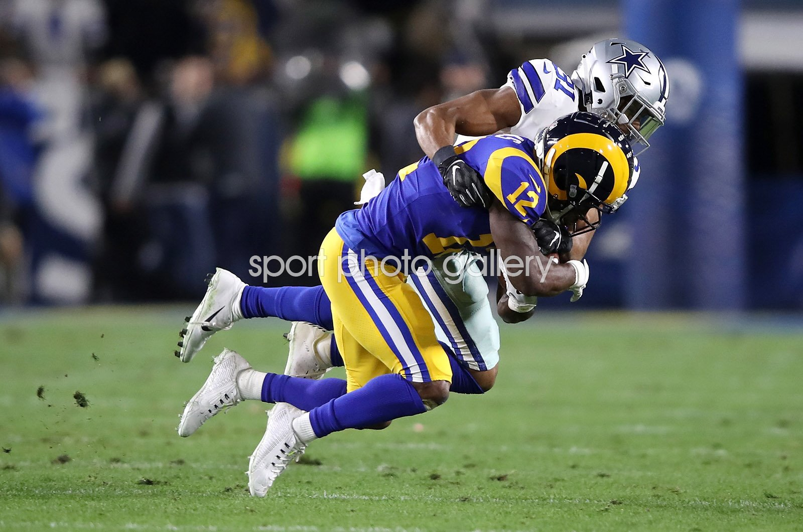 Byron Jones Dallas Cowboys v Brandin Cooks LA Rams Playoffs 2019