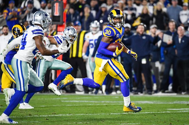 Todd Gurley Los Angeles Rams Touchdown run v Dallas 2019